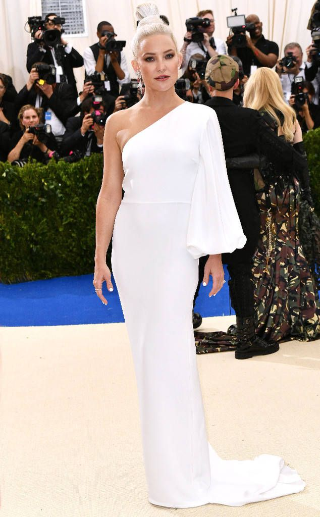 Kate Hudson from Met Gala 2017: Best Dressed Stars  The sleeve detail (and hair) on this Stella McCartney number make the look.