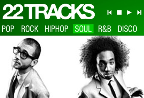 22tracks:  A collective of great DJ's and journalists teamed up to provide the best music in their genre.