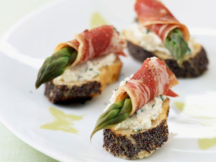 Découvrez la recette Apéritif asperge sur cuisineactuelle.fr.