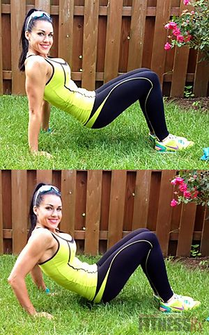 Fit Fast Outdoor Workout - 25-minute Total Body CircuitDo 4 rounds with no rest —   Push-ups // High jumps // triceps dips // Lateral single-leg jumps //Upright row with either Dumbbells or resistance band //Walking or alternating lunges //Burpees //Band biceps curls //High knees //Row row the boat