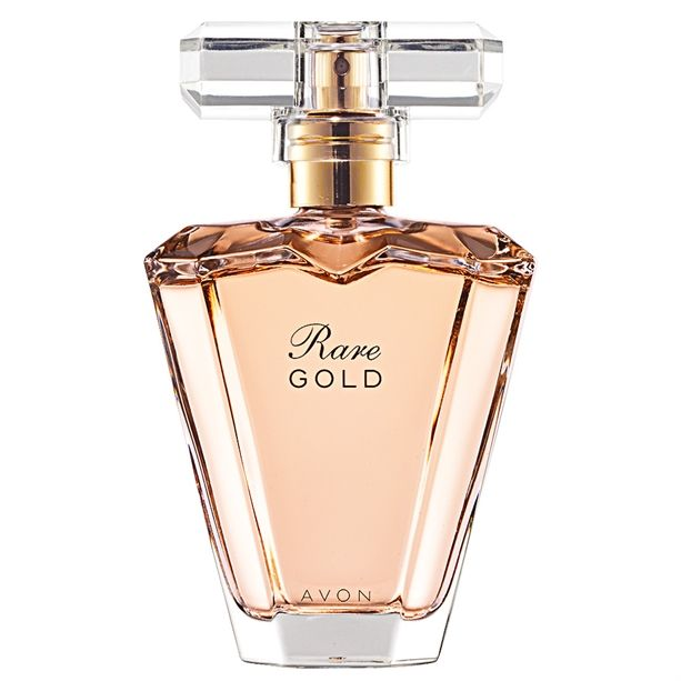 Rare Gold Eau de Parfum Spray Avon - 50ml (golden melon, orange flower, vanilla) www.avon.uk.com/store/dundee-stephen #perfume #avon #cosmetics #fragrance