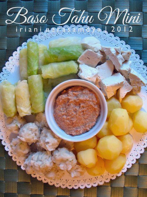 Baso Tahu Mini (Indonesian Food)