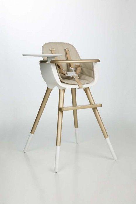 Chaise bébé OVO de Micuna, chaise haute design et confortable - Le Trésor de Bébé