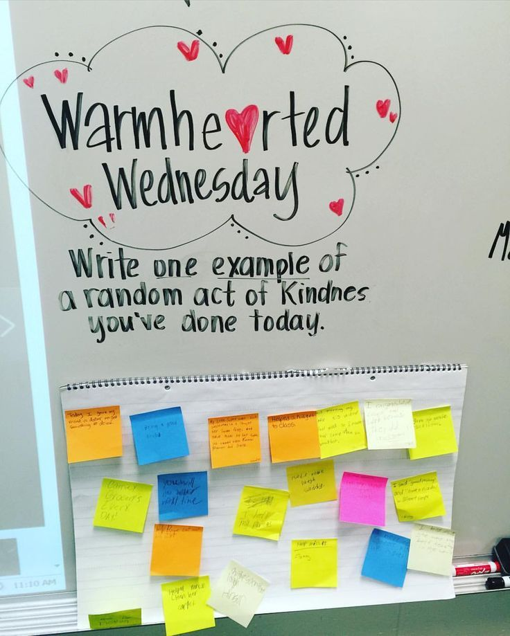 random acts of kindness morning announcements   ... Messages on Pinterest   Whiteboard, Wednesday and Morning messages