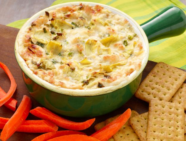 Three-Cheese Hot Artichoke Dip | 27 Perfect Cheese Dips You Should Definitely Make