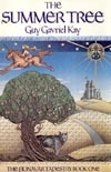 Canadian & worldwide 1st edition of THE SUMMER TREE by Guy Gavriel Kay.  Artist: Martin Springett.   Publisher: McClelland & Stewart