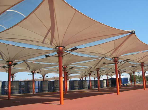 Malibu Shade manufactures a wide range of products for every shade need. We have a wide range of Pre-engineered Barrel Vault Shade Structures that come in various shapes and designs. We can also custom design and install Barrel Vault Shade Structures for most shade requirements.
