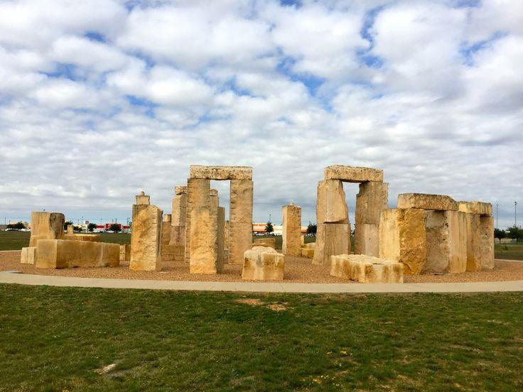 Stonehenge Replica in Odessa, Tx