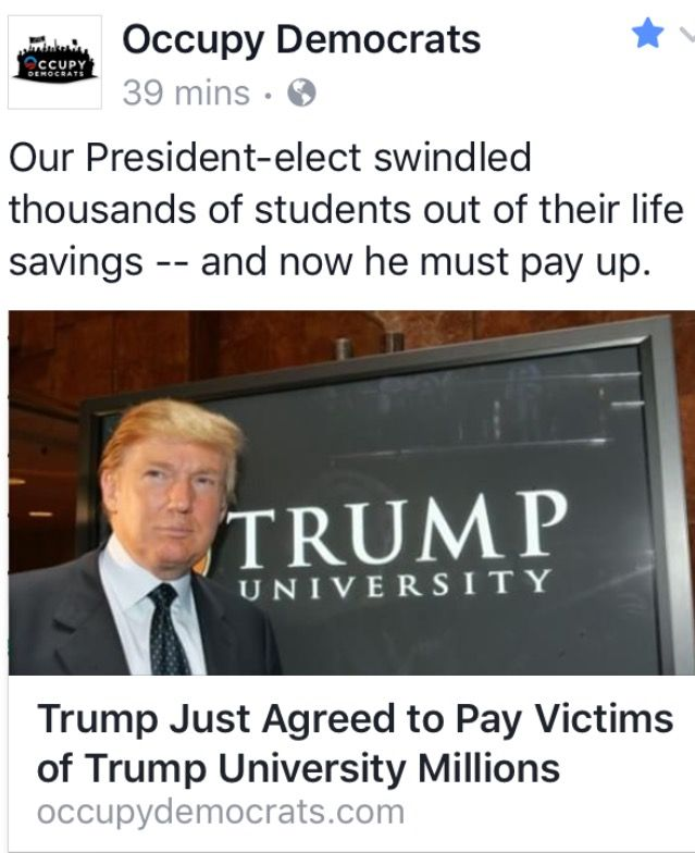 """He Screwed People out of their Life Savings and they called Hillary """"Crooked!"""" He's involved in Numerous Law Suits for Criminal Activity for Non Payment to Employees and Contractors....But Hillary's the Crook??!! Settling usually means your GUILTY....but then his Voters knew that already!!"""