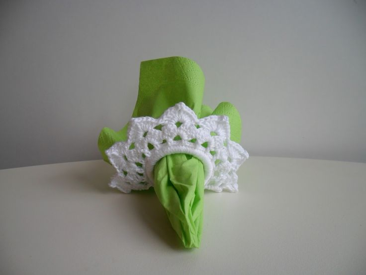 1000+ images about Crocheted napkin right rings on ...