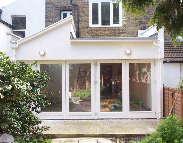 Modern side extension