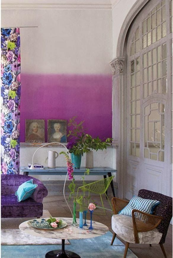 www.eyefordesignlfd.blogspot.com: Decorating With Radiant Orchid......Pantone's Color of The Year