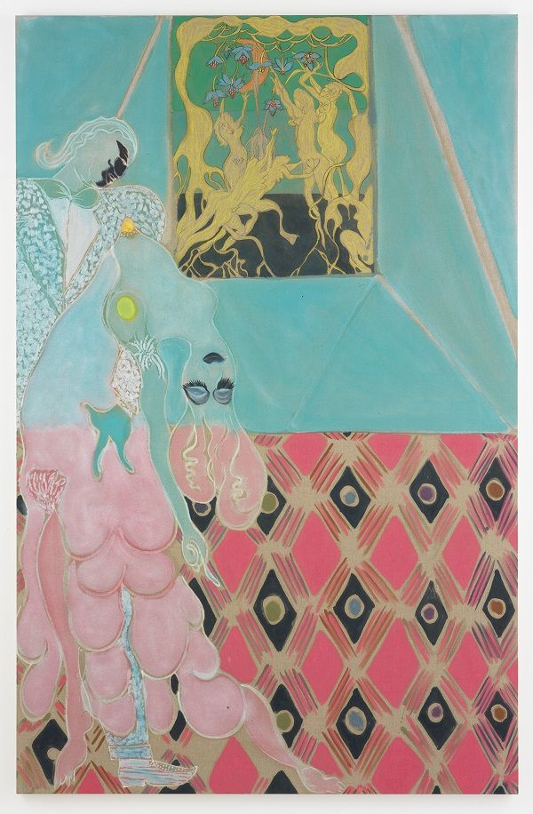 Chris Ofili: Night and Day, a Survey at the New Museum
