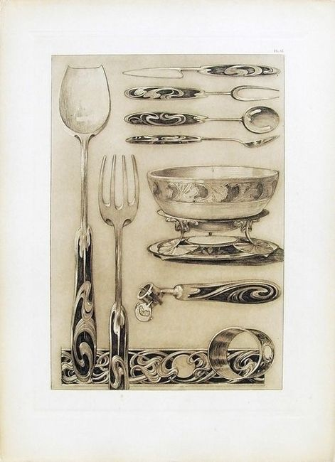 Documents Décoratifs Plate 61, 1902, Alphonse Mucha