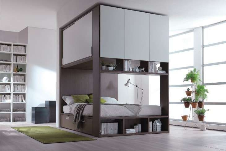 Oltre 25 fantastiche idee su camera da letto salvaspazio for 6 piani di camera da letto 6 bagni