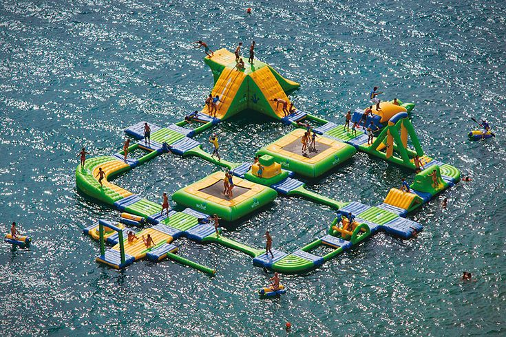 Wibit Sports Park 60 - i'd be here all dayWater Plays, Lakes House, Water Sports, Beams, Lakes Fun, Plays Area, Summer Fun, Bridges, Water Parks