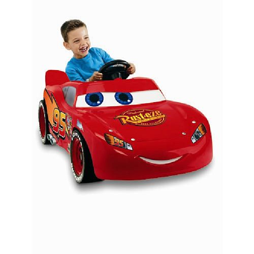 "Power Wheels Fisher-Price Super 6 Ride On - Disney Pixar Cars the Movie - Lightning McQueen - Power Wheels - Toys ""R"" Us"