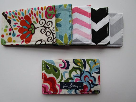 Easy Sewing Pattern, Vera Bradley Inspired Fabric Wallet, Credit Card Holder, Beginner Sewing Pattern, Business Card,  Gift Card Wallet