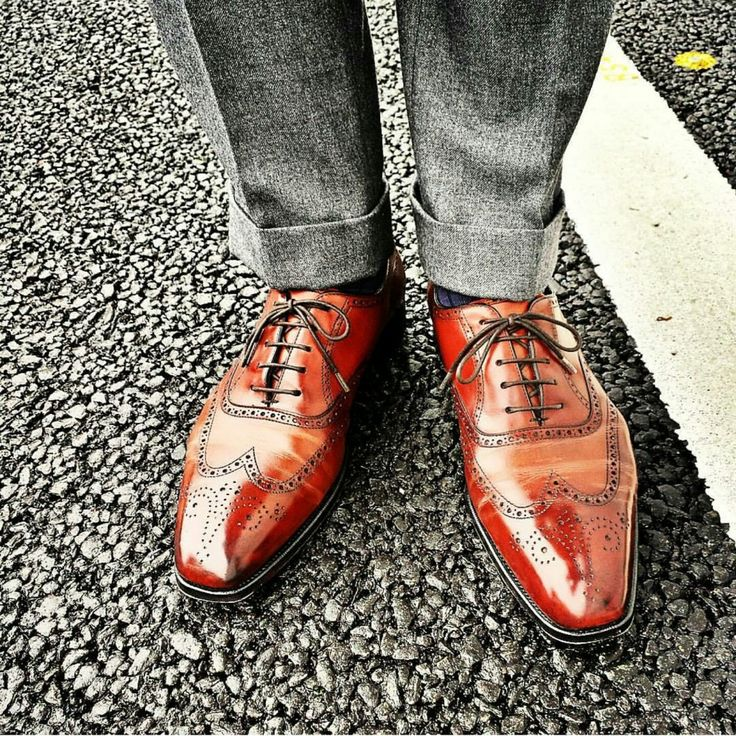 Edward Green Shoes worn very smartly