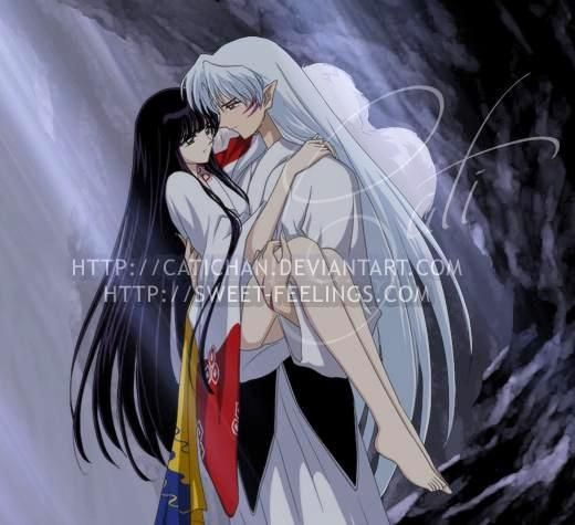 Stories about sesshoumaru and kagome having sex