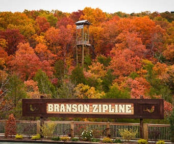 Branson Zipline and Canopy Tours offers one of the most unique and memorable experiences in Branson. Choose from different zip line experiences which all offer perfect views of the Ozark mountains. Family passes are available!
