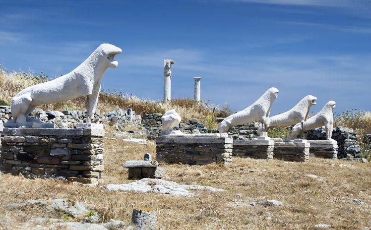 Archaeological attraction! #Delos island #VarietyCruises