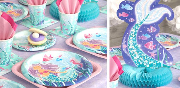 Idee festa di compleanno La bella sirena per bambine - VegaooParty