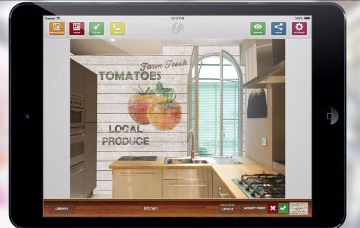 Innovation Alert For the Wallpaper Industry: Glamora Design Studio App [Video] - http://www.interiordesign2014.com/interior-design-ideas/innovation-alert-for-the-wallpaper-industry-glamora-design-studio-app-video/