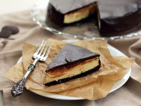 Triple chocolade cheesecake