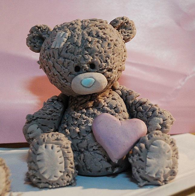 Bear heart : )