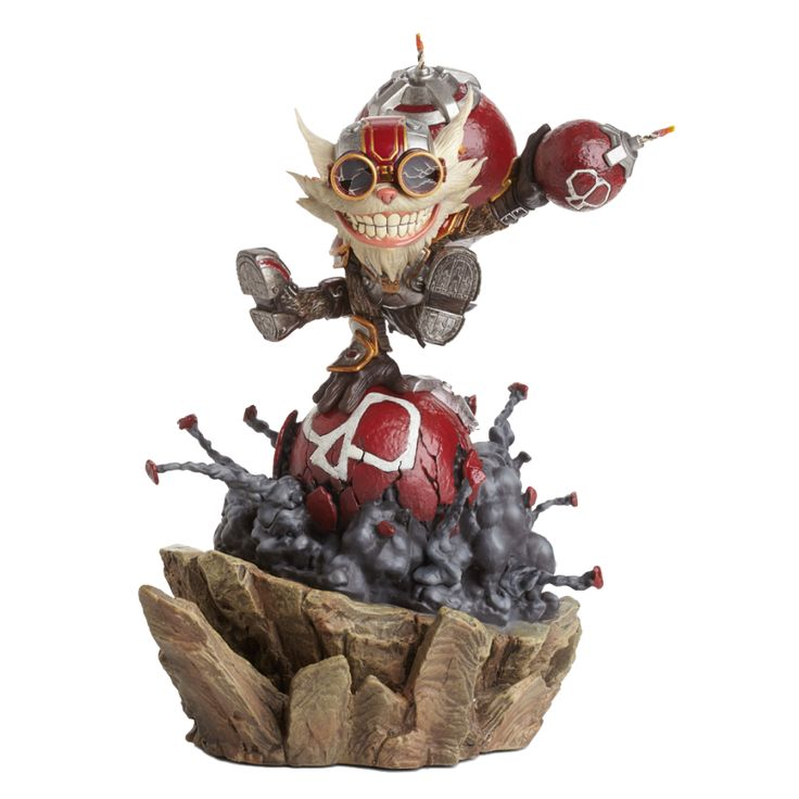 Ziggs Statue from LoL - Riot Merch Store