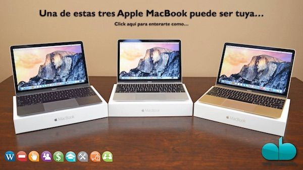 Promo MacBook Noviembre