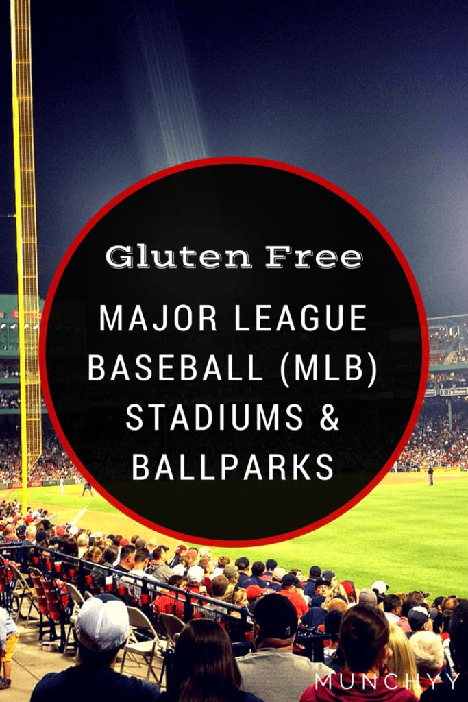 Complete listing of every gluten free food, drink, and beer option from all 30 MLB Ballparks