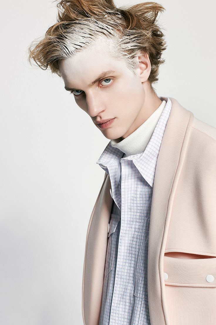 Paul Boche at Fusion Model Management photographed by Damien Kim and styled with pieces from ...