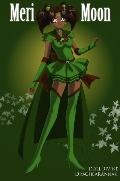 Meri Moon - Princess of the glorious green moon Gardna and controller of Greenery and ground by BFP ~ Anime Dress Up