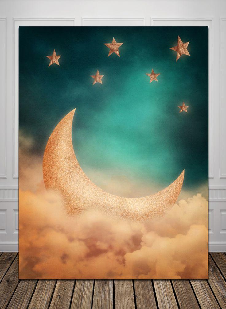 HUAYI луна новорожденных день рождения Компьютер Напечатаны Фотографии Фон D1674