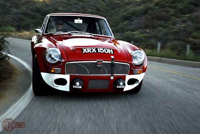 MGB gt perfect example of Bauhaus design; perfection functionality and no waste space uses