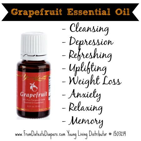The wonderful benefits of grapefruit essential oil