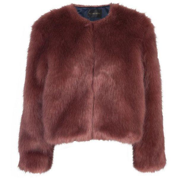 Rose Irina Jacket (£399) ❤ liked on Polyvore featuring outerwear, jackets, coats, coats & jackets, casacos, short jacket, red jacket and stine goya