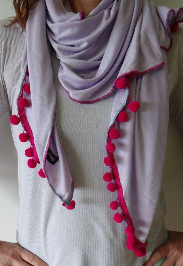 Smells Like Lavender by Stylesetterz Handmade Scarves www.facebook.com/stylesetterzhandmadescarves