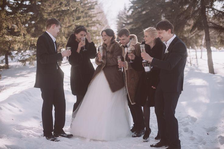Свадьба зимой. Любовь. Семья. Свадьба 14 февраля. Зимняя сказка.