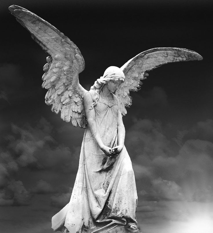 love the uplifted wings yes angels pinterest angel cemetery and angel statues. Black Bedroom Furniture Sets. Home Design Ideas