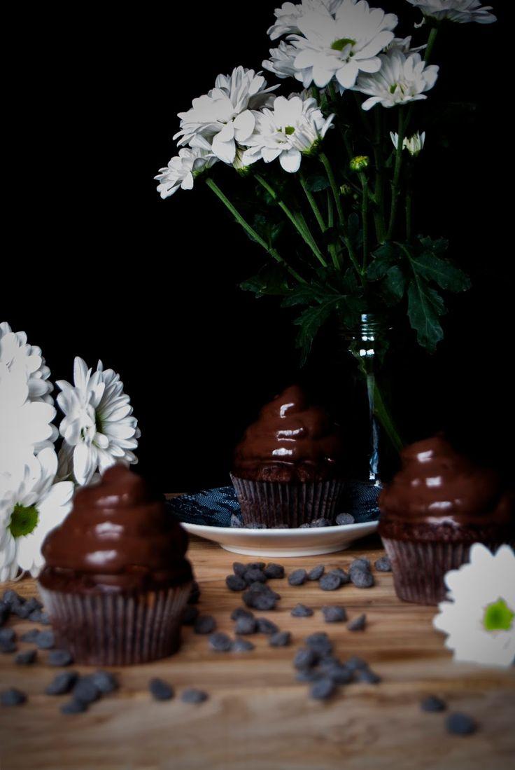 La asaltante de dulces: Receta de Hi-hat cupcakes/ Hi-hat cupcakes recipe. Delicious!