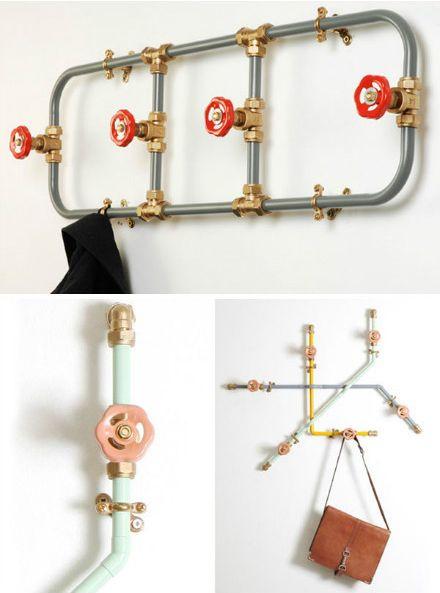 17 mejores ideas sobre muebles de tubo de fontaner a en - Tubos de fontaneria ...