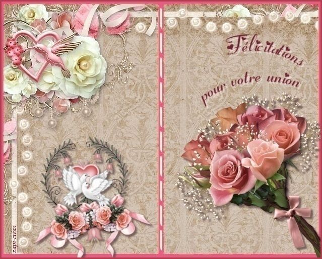 Carte Felicitations Mariage A Imprimer Ou Envoyer Carte
