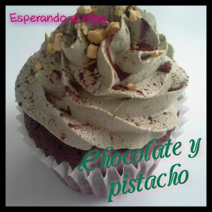 Chocolate y pistacho
