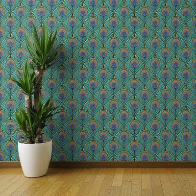 World Menagerie Aidian Removable Peel and Stick Wallpaper