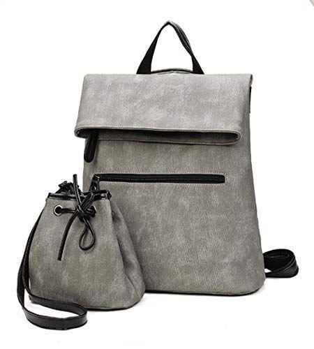 Betrothales Umhängetasche Damen Lxopr@ Pu Rucksack Casual Chic Handtasche Rucks… – amazonmode