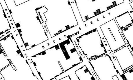 John Snow's map of cholera outbreaks from nineteenth century London changed how we saw a disease - and gave data journalists a model of how to work today