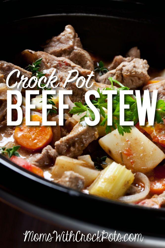 Crock Pot Beef Stew!